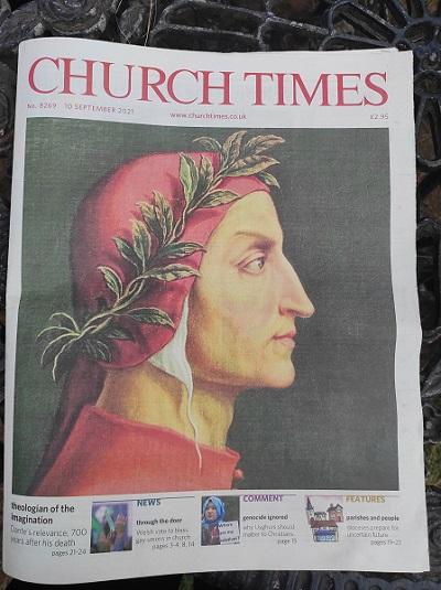 Dante, Faludy és az anglikánok